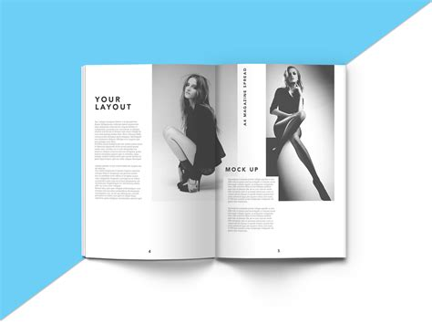 How To Clean In by A4 Magazine Mockup Bundle Mockupworld
