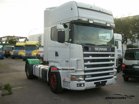 scania 4 series 124 l 420 2000 standard tractor trailer