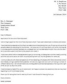 Patient Care Assistant Cover Letter by Care Assistant Cover Letter Exle Icover Org Uk