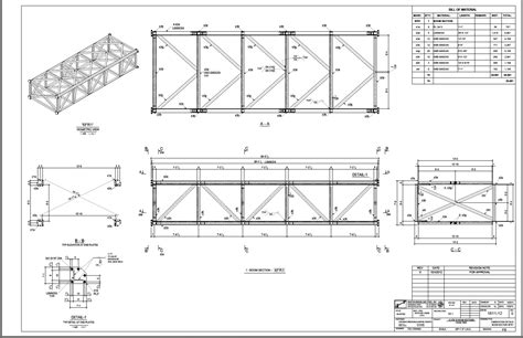 structural section acbs structural steel detailing crane boom sections