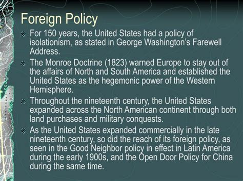chapter 17 section 1 foreign affairs and national security ppt chapter 17 foreign policy and national defense