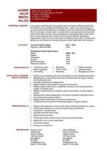 media cv template job seeker tv film radio journalist