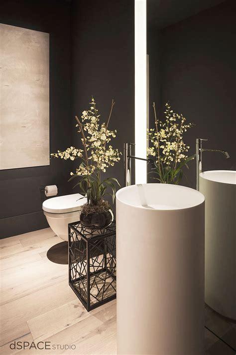 Modern Bathroom Storage Cabinet Creating The Perfect Powder Room Design Tips Tricks