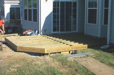 17 best images about ground level deck ideas on
