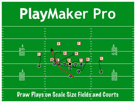 Playmaker Pro Football Basketball Playbook Software Playmaker Pro Templates