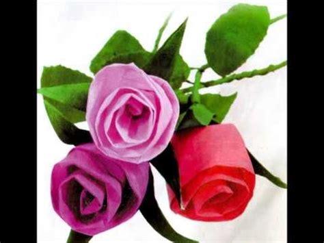 vidio cara membuat bunga dari kertas krep video cara membuat bunga mawar dari kertas krep youtube