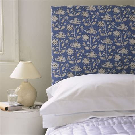 Fabric Covered Headboard Ideas fabric covered headboard traditional bedroom ideas housetohome co uk