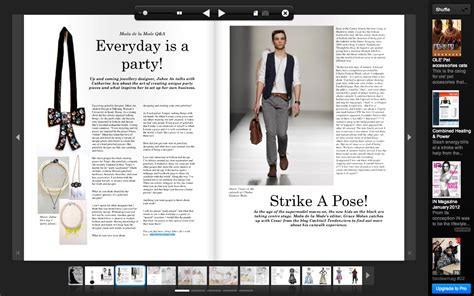 layout of online magazine create your own online magazine with issuu