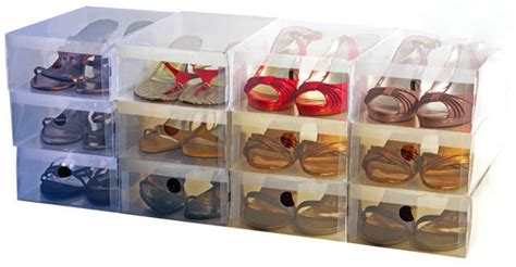 how to make shoe boxes for storage shoe box high quality stackable clear plastic