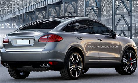 Porsche Cayenne Sports Activity Coupe Rendering