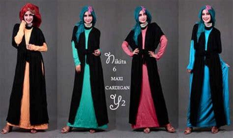desain baju masa kini baju muslim ronavifolin