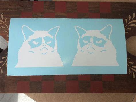 Grumpy Cat Car Window Sticker