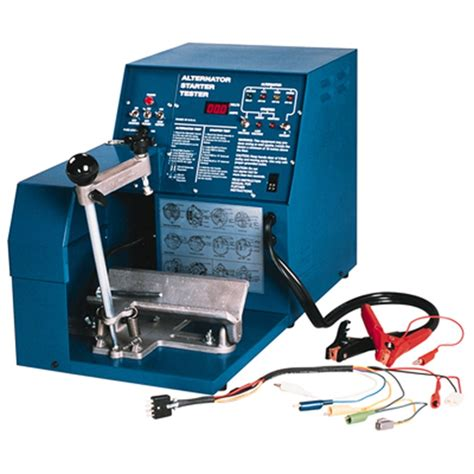 alternator and starter test bench associated 8600 bench alternator starter tester aso8600