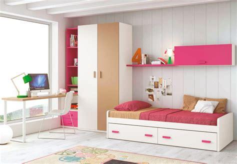 Formidable Style De Chambre Pour Fille #5: chambre-pour-ado-fille-composition-l112-avec-lit-2-coffres-glicerio.jpg