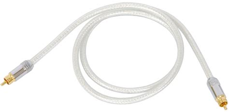 Kabel Rca Jeg Rca 1m techlink 700131 kabel rca rca cyfrowy interkonekt coaxial 1m