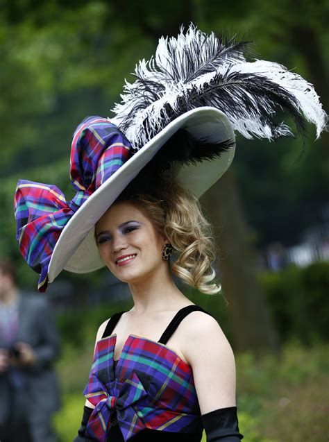 royal ascot hats ladies day at royal ascot the hats go wild