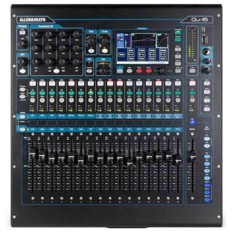 Mixer Recording Murah jual allen and heath qu 16 harga murah primanada
