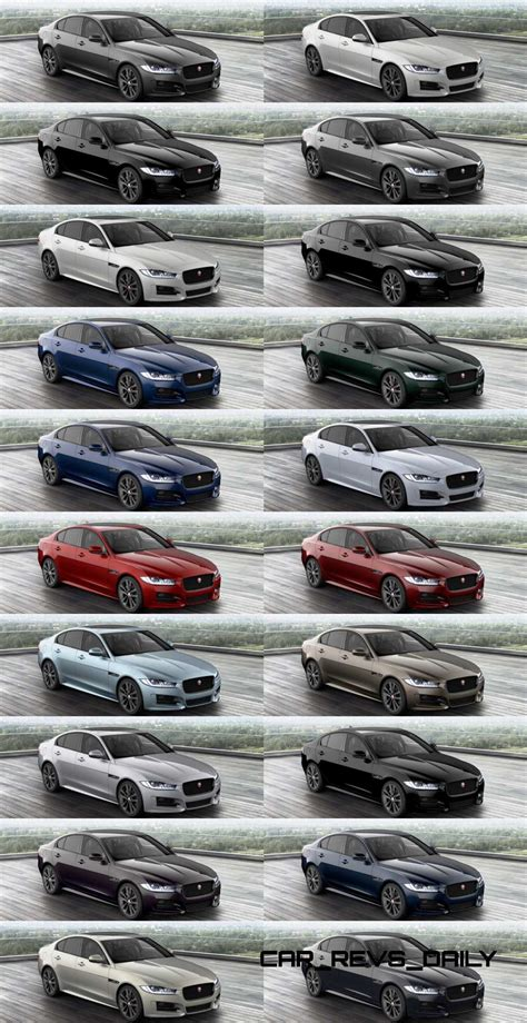 2016 jaguar xe configurator is live buyers guide to colors wheels options and trims