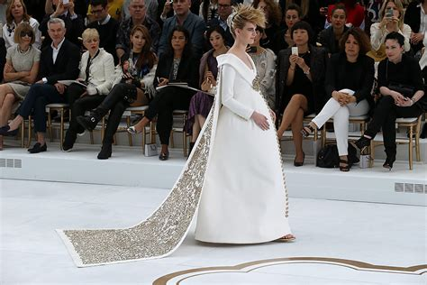 wedding channel chanel haute couture see the bridal inspired white