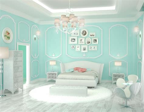 house tour white and pale tiffany blue makes a charming 20 bedroom paint ideas for teenage girls home design lover