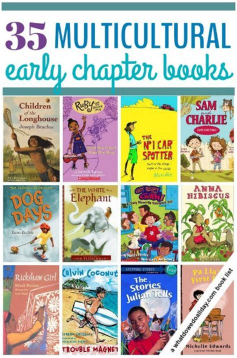 Arts And Crafts Books For Kids - 35 multicultural early chapter books for kids