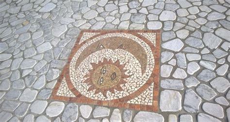 pavimenti in palladiana pavimento in palladiana marmo bianco carrara con rosone