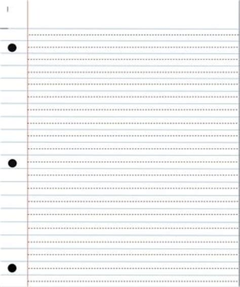 printable lined paper with dotted midline 25 best ideas about notebook paper on pinterest free