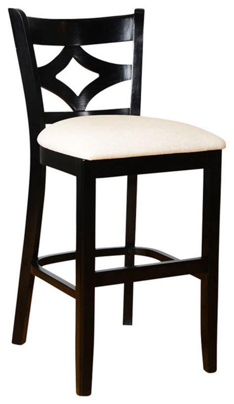 Black Bar Stool Cushions by Curtain Back Stool With Cushion Black Bar Stools And