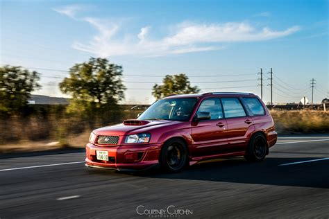 red subaru forester slammed lowered foresters page 54 nasioc