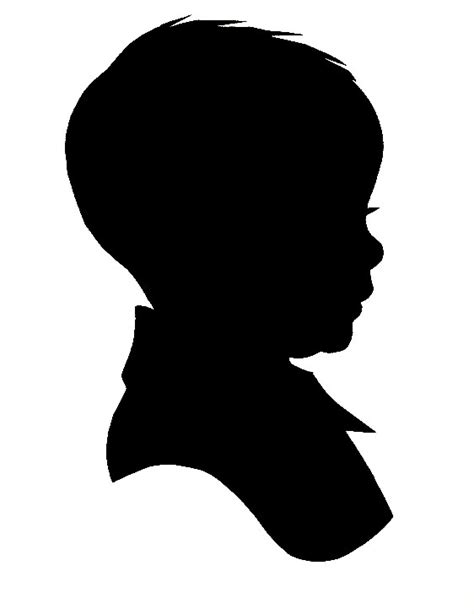 baby silhouette clip art clipart best