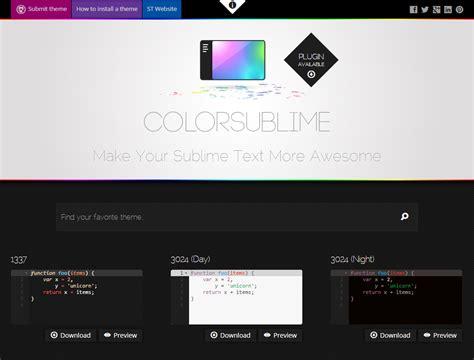 sublime text color scheme sublime text 3 color scheme 서브라임 텍스트 색상 변경하기