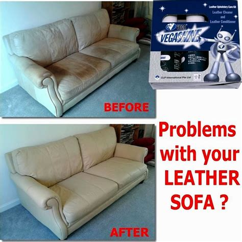 how to clean leather sofa with vinegar portrait