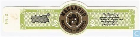 Macanudo Handmade Imported - macanudo handmade imported guaranteed quality cigars