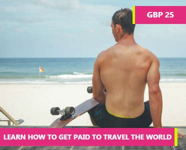 How To Make Money Online And Get Paid Through Paypal - learn how to get paid to travel the world how to learn online discover top online