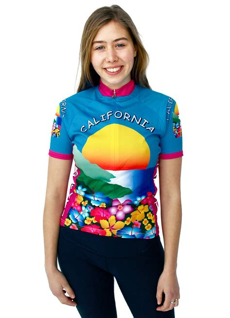 women s women s california bike jerseys