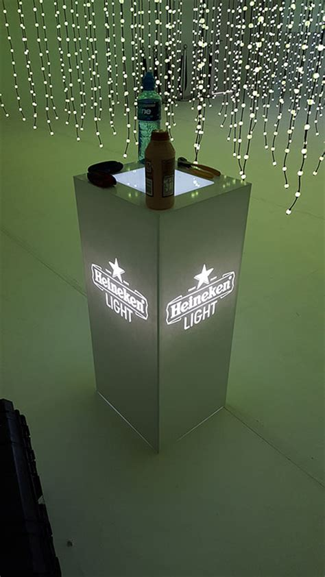Pop Pop Up Glow by Display Units Cases More Acrylic Creations