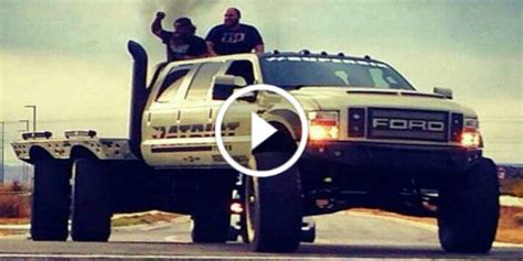diesel brothers six six truck check out amazing 6 wheel truck