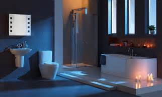 Special creating modern bathroom interior decor