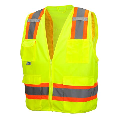 class 1 safety class 2 safety vest rvz2410