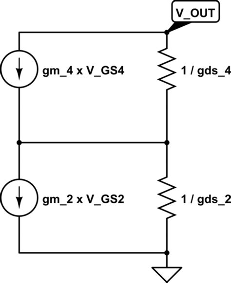 gds of transistor gm gds transistor 28 images mosfet circuits tutorial the mosfet differential lifier highly
