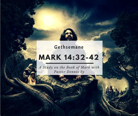 mark   gethsemane manhood leadership