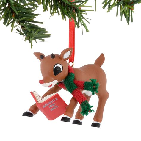 enesco ornaments rudolph reading ornament 4040594
