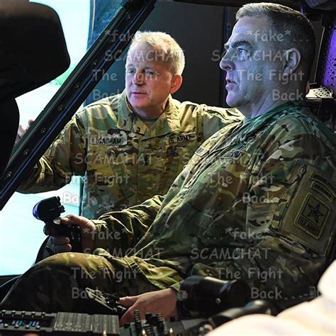mark a milley military romance scams scamhaters united patton jack using general mark milley