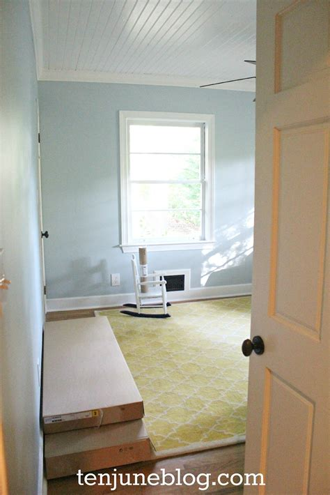 sherwin williams paint room ten june nursery update a freshly painted baby boy s
