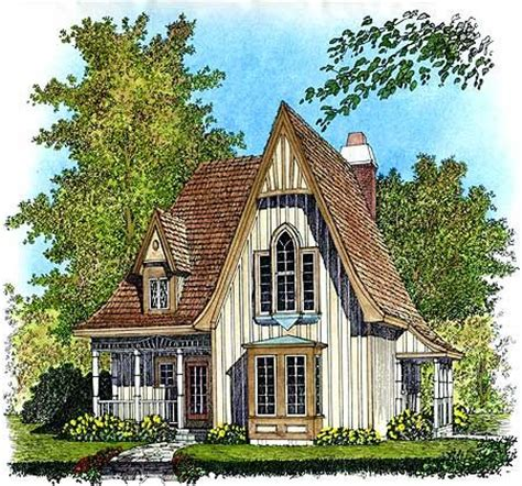 gothic revival home plans plan 43002pf charming gothic revival cottage house
