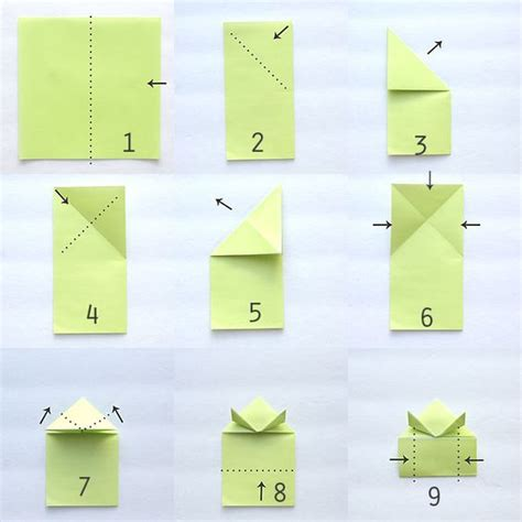 How To Do A Origami Frog - origami jumping frogs easy folding its