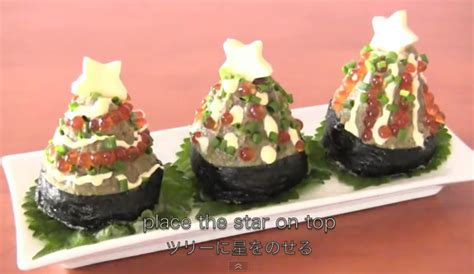 sushi christmas trees the world of kitsch