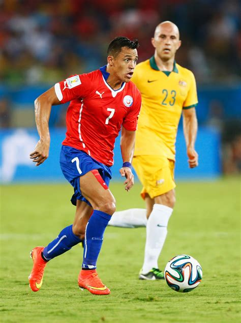 alexis sanchez world ranking alexis sanchez photos photos chile v australia group b