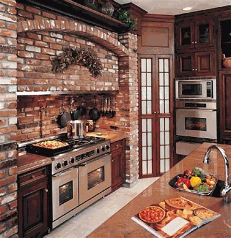 brick kitchen ideas 25 exposed brick wall designs defining one of latest