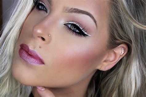 tutorial makeup pac double winged eyeliner makeup tutorial valerie pac youtube